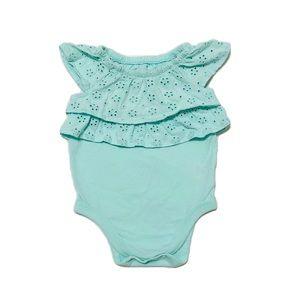Garanimals Summer Bodysuit w/Ruffles 6-9mo